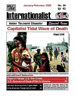 Internationalist No. 20 (January-February                         2005)